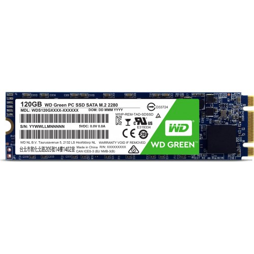 Western Digital 120GB M2 SSD