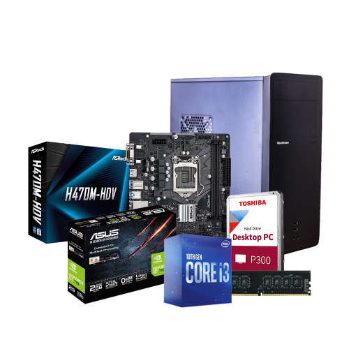 Intel 10th Gen Core i3-10100 Gaming PC