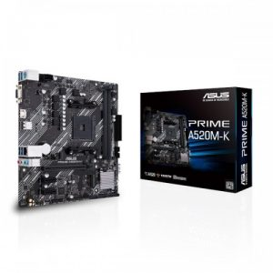 Asus Prime A520M-K AM4 Micro-ATX AMD Motherboard